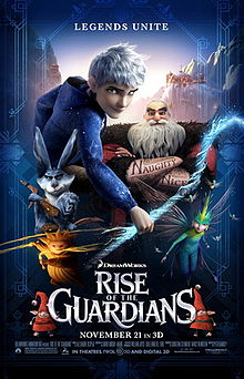 Rise of the Guardians (2012) ** | K: *****