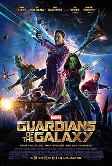 Guardians of the Galaxy (2014) ***