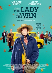 The Lady in the Van (2015, UK) ***