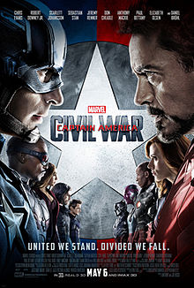 Captain America: Civil War (2016) ***