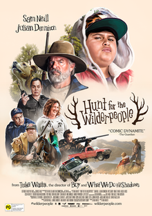 Hunt for the Wilderpeople (2016, New Zealand) *****